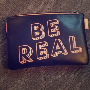 Benefit Be Real Cosmetic Bag